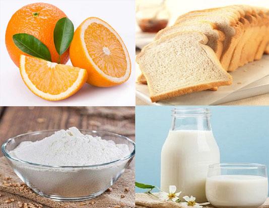 Bánh mì sữa tươi cam