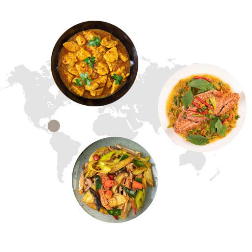 Sử dụng bột cary trong ẩm thực
