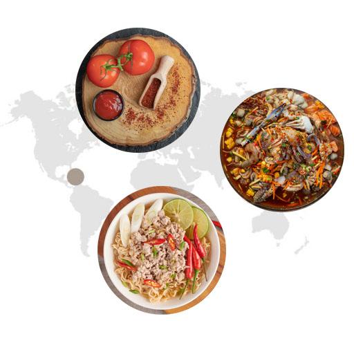 Sử dụng ớt trong ẩm thực