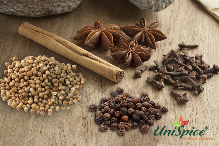 Bột ngũ vị hương tăng hương vị cho món ăn