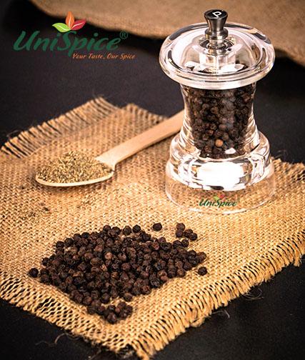 Gia vị bột tiêu đen từ 100% nông sản tự nhiên