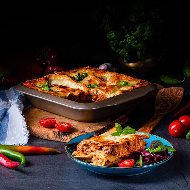 Cách làm Lasagna thịt bò bằm sốt Bechamel