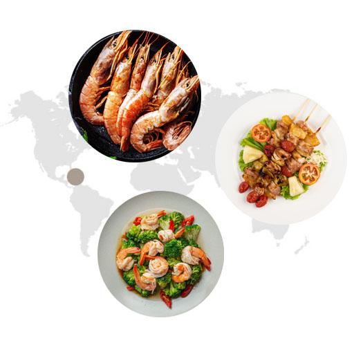 Sử dụng gia vị tẩm ướp BBQ hải sản trong ẩm thực
